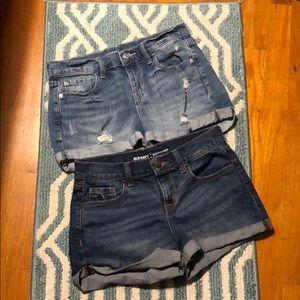 Bundle of jean shorts!